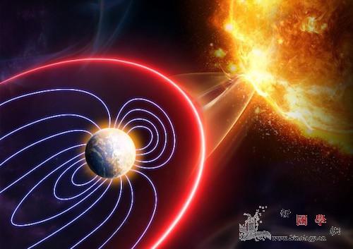 """耀斑爆发地球竟然会""""自卫""""!_电离层-耀斑-影响-"""